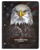 Eagle with Flag - Academic Planners Plus