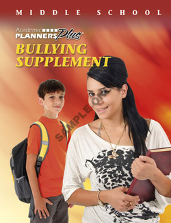 Middle School Bullying Supplement - Academic Planners Plus