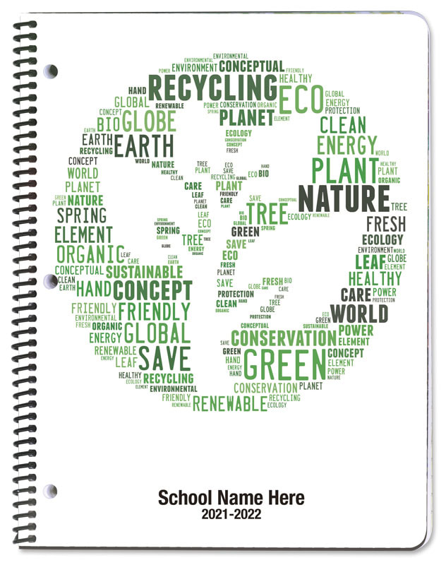 Recycle Leaf - Academic Planners Plus